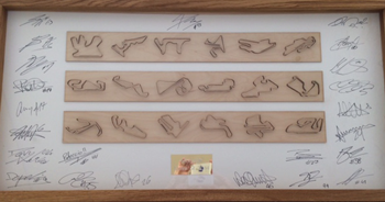 Moto Gp Signed Artwork