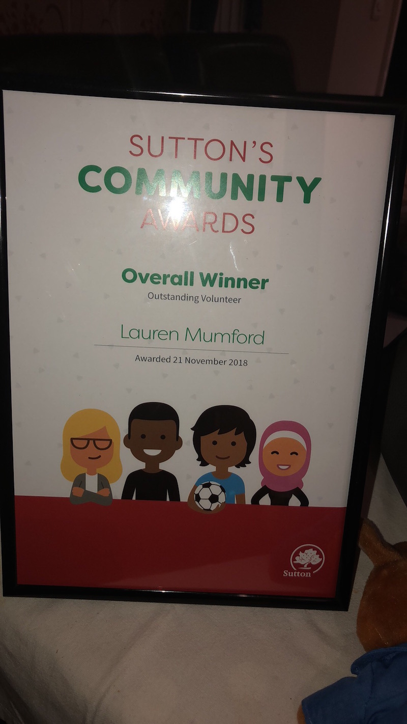Sutton's community Awards
